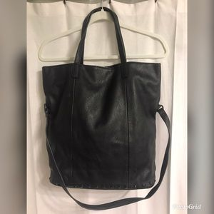 Old Navy Classic Black Tote Bag